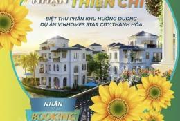 Chính thức nhận Booking phân khu Hướng Dương Vinhomes Star City Thanh Hóa